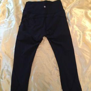 Lululemon 7/8 high waisted leggings